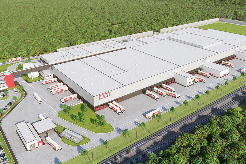 Logistikzentrum Rewe Dortmund